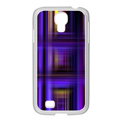 Background Texture Pattern Color Samsung GALAXY S4 I9500/ I9505 Case (White)