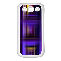 Background Texture Pattern Color Samsung Galaxy S3 Back Case (White)