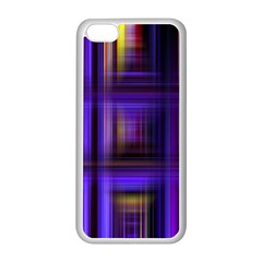 Background Texture Pattern Color Apple iPhone 5C Seamless Case (White)