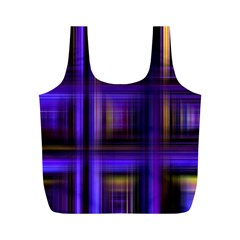 Background Texture Pattern Color Full Print Recycle Bags (m)