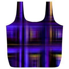 Background Texture Pattern Color Full Print Recycle Bags (l)