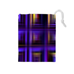 Background Texture Pattern Color Drawstring Pouches (Medium)