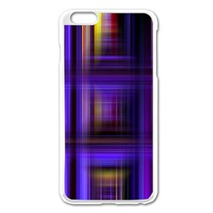 Background Texture Pattern Color Apple Iphone 6 Plus/6s Plus Enamel White Case