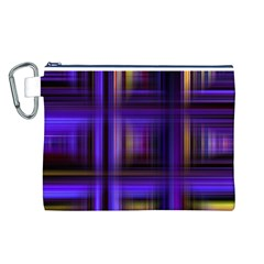 Background Texture Pattern Color Canvas Cosmetic Bag (l)