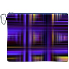 Background Texture Pattern Color Canvas Cosmetic Bag (xxxl)