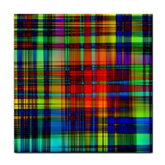 Abstract Color Background Form Tile Coasters