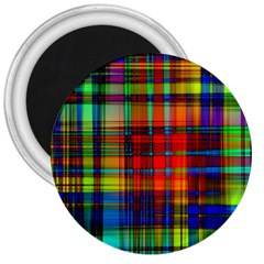 Abstract Color Background Form 3  Magnets