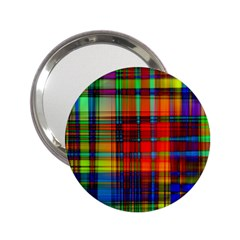 Abstract Color Background Form 2.25  Handbag Mirrors