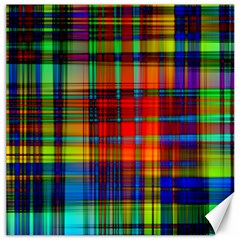 Abstract Color Background Form Canvas 12  X 12