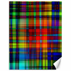 Abstract Color Background Form Canvas 12  x 16