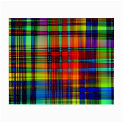 Abstract Color Background Form Small Glasses Cloth (2-Side)