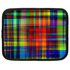 Abstract Color Background Form Netbook Case (Large)
