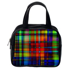 Abstract Color Background Form Classic Handbags (one Side)