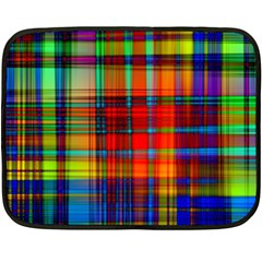 Abstract Color Background Form Double Sided Fleece Blanket (mini)