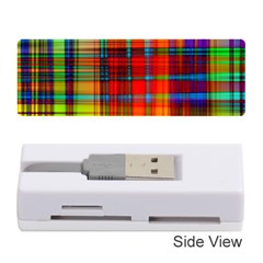 Abstract Color Background Form Memory Card Reader (stick)