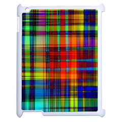 Abstract Color Background Form Apple iPad 2 Case (White)