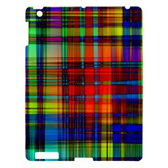 Abstract Color Background Form Apple iPad 3/4 Hardshell Case
