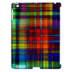 Abstract Color Background Form Apple iPad 3/4 Hardshell Case (Compatible with Smart Cover)