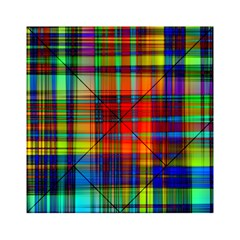 Abstract Color Background Form Acrylic Tangram Puzzle (6  x 6 )