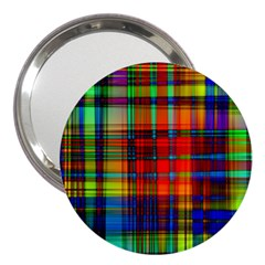 Abstract Color Background Form 3  Handbag Mirrors