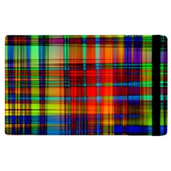 Abstract Color Background Form Apple Ipad 2 Flip Case