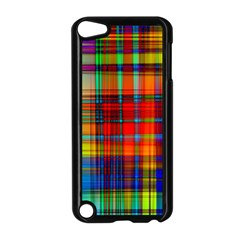 Abstract Color Background Form Apple iPod Touch 5 Case (Black)