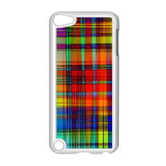Abstract Color Background Form Apple iPod Touch 5 Case (White)