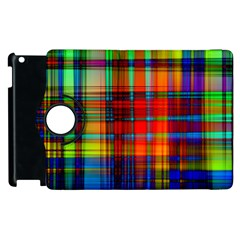 Abstract Color Background Form Apple iPad 2 Flip 360 Case