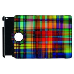 Abstract Color Background Form Apple iPad 3/4 Flip 360 Case