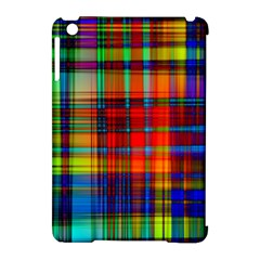 Abstract Color Background Form Apple iPad Mini Hardshell Case (Compatible with Smart Cover)