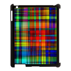 Abstract Color Background Form Apple iPad 3/4 Case (Black)