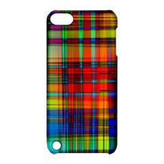 Abstract Color Background Form Apple iPod Touch 5 Hardshell Case with Stand