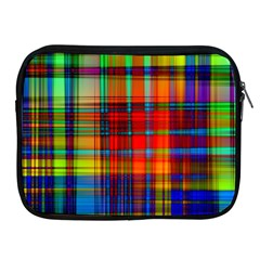 Abstract Color Background Form Apple Ipad 2/3/4 Zipper Cases