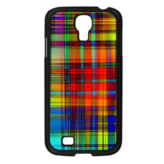 Abstract Color Background Form Samsung Galaxy S4 I9500/ I9505 Case (Black)
