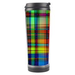 Abstract Color Background Form Travel Tumbler