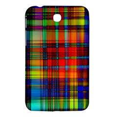 Abstract Color Background Form Samsung Galaxy Tab 3 (7 ) P3200 Hardshell Case