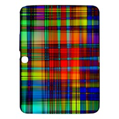 Abstract Color Background Form Samsung Galaxy Tab 3 (10.1 ) P5200 Hardshell Case