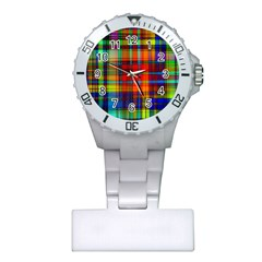 Abstract Color Background Form Plastic Nurses Watch