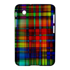 Abstract Color Background Form Samsung Galaxy Tab 2 (7 ) P3100 Hardshell Case