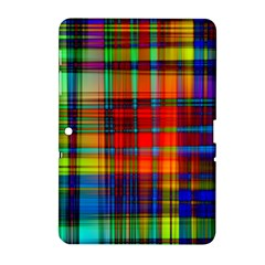 Abstract Color Background Form Samsung Galaxy Tab 2 (10.1 ) P5100 Hardshell Case