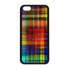 Abstract Color Background Form Apple iPhone 5C Seamless Case (Black)