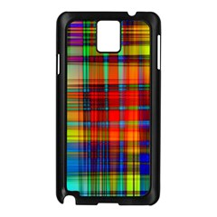 Abstract Color Background Form Samsung Galaxy Note 3 N9005 Case (Black)