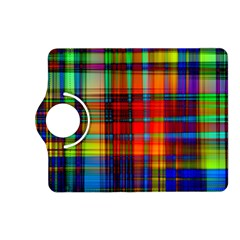 Abstract Color Background Form Kindle Fire Hd (2013) Flip 360 Case