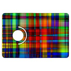 Abstract Color Background Form Kindle Fire HDX Flip 360 Case