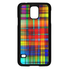 Abstract Color Background Form Samsung Galaxy S5 Case (Black)