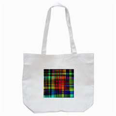 Abstract Color Background Form Tote Bag (White)