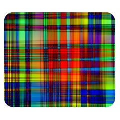 Abstract Color Background Form Double Sided Flano Blanket (Small)