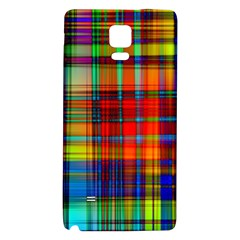 Abstract Color Background Form Galaxy Note 4 Back Case