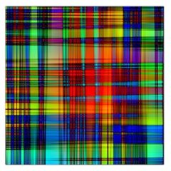 Abstract Color Background Form Large Satin Scarf (Square)