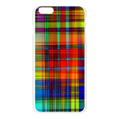 Abstract Color Background Form Apple Seamless iPhone 6 Plus/6S Plus Case (Transparent)